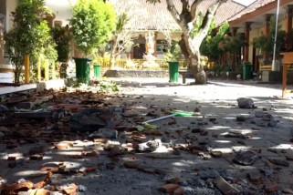 Gempa guncang Bali, tak besar tapi merusak