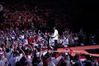 Jokowi sampaikan visi Indonesia