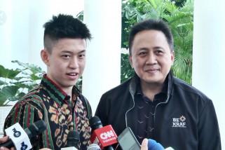 Presiden terima rapper Rich Brian di Istana Bogor