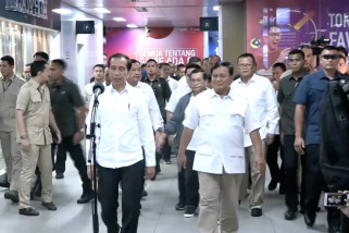 Dewan pembina Partai Gerindra gelar pertemuan di Hambalang