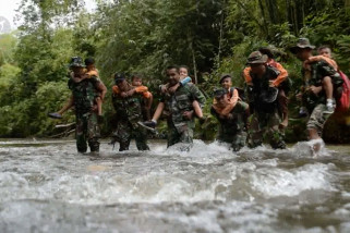Satgas TMMD bangun infrastruktur desa Balung