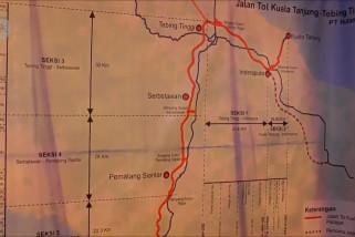 Tol yang akan membuat Medan-Danau Toba hanya 1,5 jam