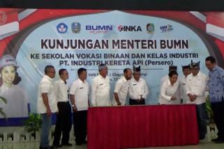 PT. INKA siapkan  tenaga kerja terampil dari SMK