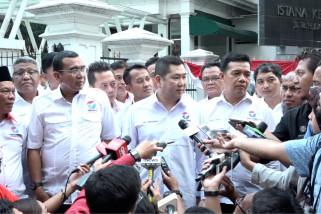 Temui Jokowi, Perindo tegaskan dukung program pemerintah