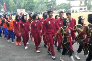 2.125 pelajar bertanding di Porismas Setukpa Sukabumi