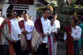 Presiden kunjungi Kampung Penegakan Hukum Siallagan