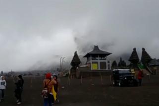 Bromo kembali erupsi