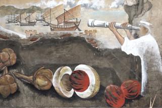 Jejak sejarah keberagaman dalam mural