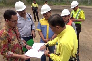 KPK pantau aktivitas tambang di lahan IUP Batubara di Cintapuri