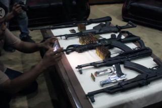 Warga serahkan 6 senjata api ke Kodam Iskandar Muda