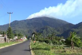 Kebakaran di Taman Nasional  Gunung Ciremai sulit dipadamkan