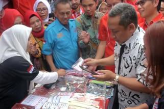 PLH Wali Kota Bandung resmikan penataan PKL Cicadas