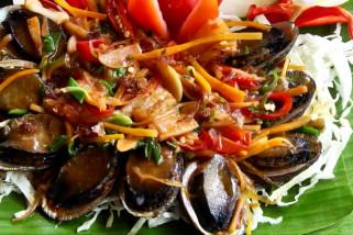 Menyantap kerang mahal kaya manfaat, abalone di Gondol