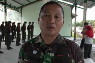Peserta SMN 2019 asal Sulteng belajar senjata api dan baris-berbaris