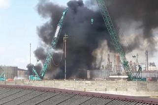 Pertamina belum pastikan penyebab kebakaran kilang Balikpapan