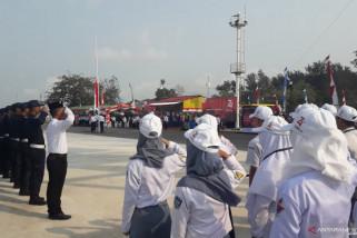 SMN Sultra ikuti upacara peringatan Kemerdekaan RI ke-74 di Mentok (Video)
