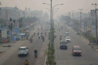 BMKG Pekanbaru pastikan kabut asap tak menyeberang ke Negeri Jiran