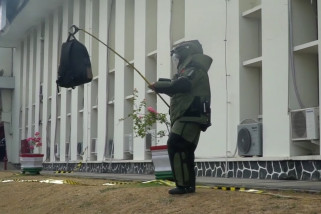 "Kantor Pertamina RU V ""diteror"" ancaman bom"