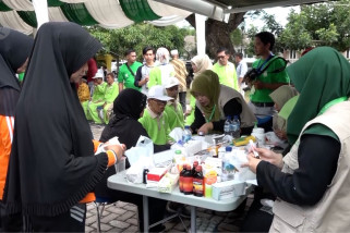 Lansia Aceh memperingati Hari Lansia Nasional