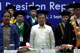 Wapres JK ajak mahasiswa Aceh jaga perdamaian