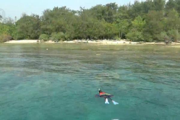 Pulau Sangiang surga pecinta selam di Banten