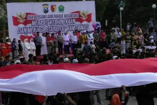 Jelang pelantikan Presiden, masyarakat Kota Malang berdoa bersama