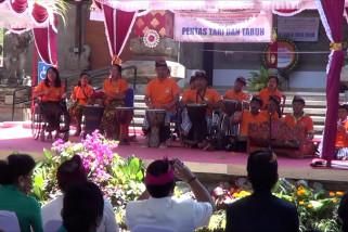 Puluhan seniman disabilitas unjuk bakat dalam Festival Kesenian Bali