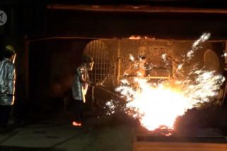 Menteri BUMN optimis Blast Furnace sehatkan Krakatau Steel