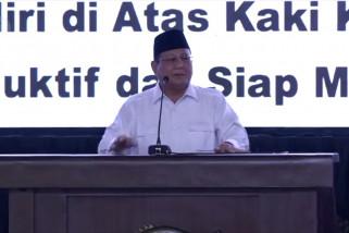 Prabowo tawarkan 3 konsep ke Jokowi