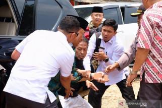 Usai mendapat pertolongan, Wiranto diterbangkan ke Jakarta