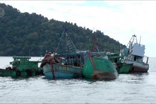 Menteri Susi pimpin penenggelaman kapal ikan asing