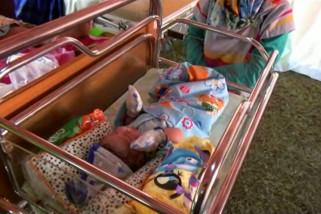 Sebanyak tujuh belas bayi terlahir di RS Darurat Dokter Umarella