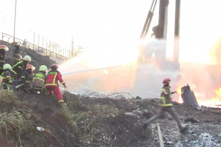 Polda Jabar akan usut ledakan pipa Pertamina