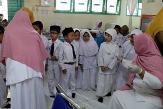 Siswa madrasah di Aceh imunisasi vaksin difteri