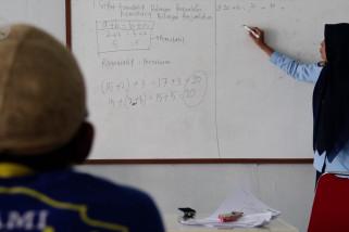 Pendidikan kesetaraan bagi penghuni Lapas