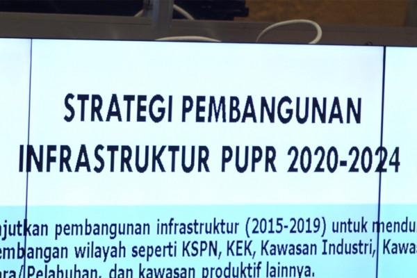 Menteri PUPR anggarkan Rp 2.000 triliun untuk infrastruktur