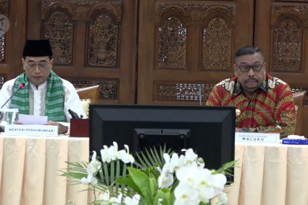Kemenhub optimalkan pembangunan infrastruktur di Provinsi Maluku