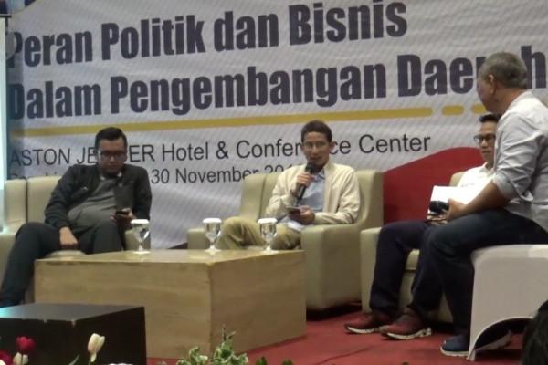 Pentingnya peran politik dan bisnis dalam perkembangan daerah