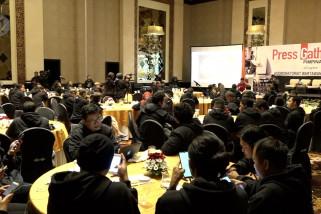 MPR bangun kedekatan bersama wartawan di Bali