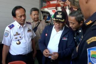 Wali Kota Bandung inspeksi lokasi uji kir