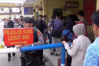 Pasca bom Medan pelayanan di Polrestabes kembali dibuka