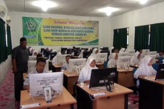 Ujian semester berbasis daring perdana di Aceh