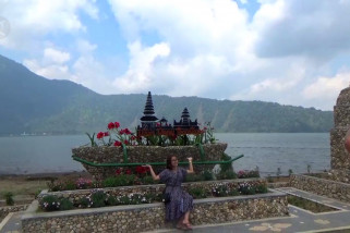 Ulun Danu Beratan tingkatkan kunjungan wisatawan dengan spot swafoto