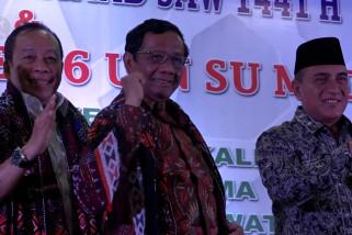 Menkopolhukam tegaskan komitmen pemerintah perkuat ideologi Pancasila