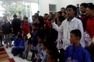 Menteri PPPA tinjau penampungan anak jalanan terjaring razia