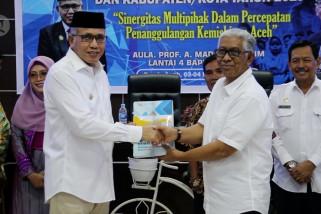 Kurangi kemiskinan, Pemprov Aceh launching aplikasi E-SEDEKAH