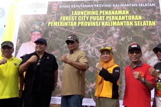 Pemprov Kalsel luncurkan Hutan Kota