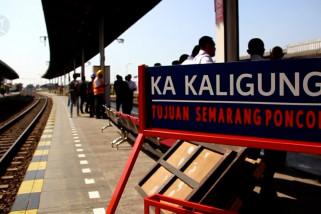 Kereta Kaligung kini berangkat dari stasiun Prujakan Cirebon