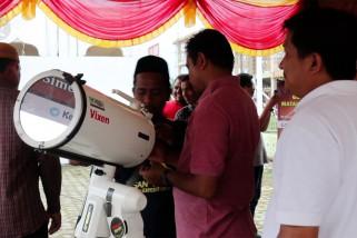 Kemenag Aceh siapkan 10 teleskop untuk melihat gerhana matahari cincin