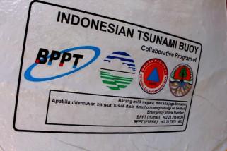 12 pendeteksi tsunami buatan BPPT gantikan yang lama